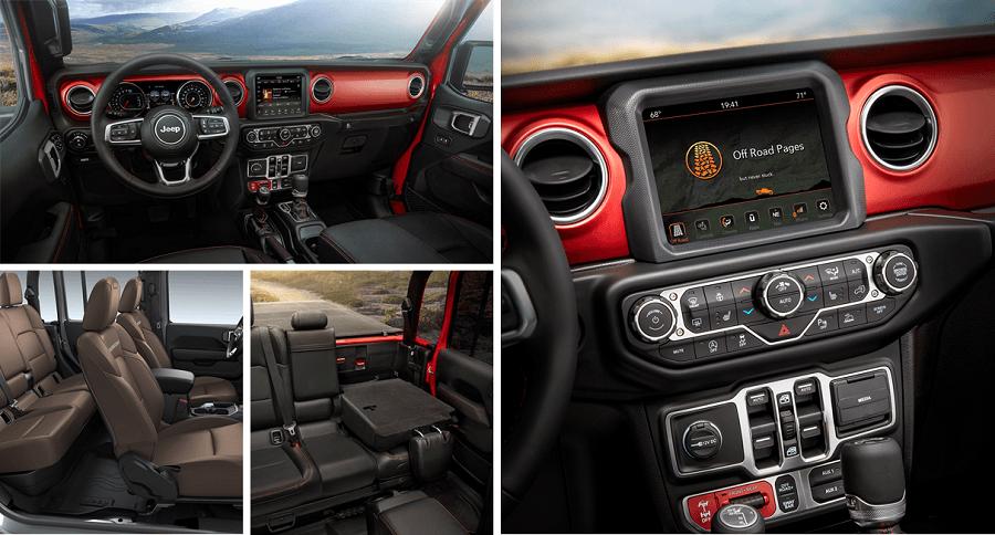 2020 Jeep Gladiator Calgary Interior Look