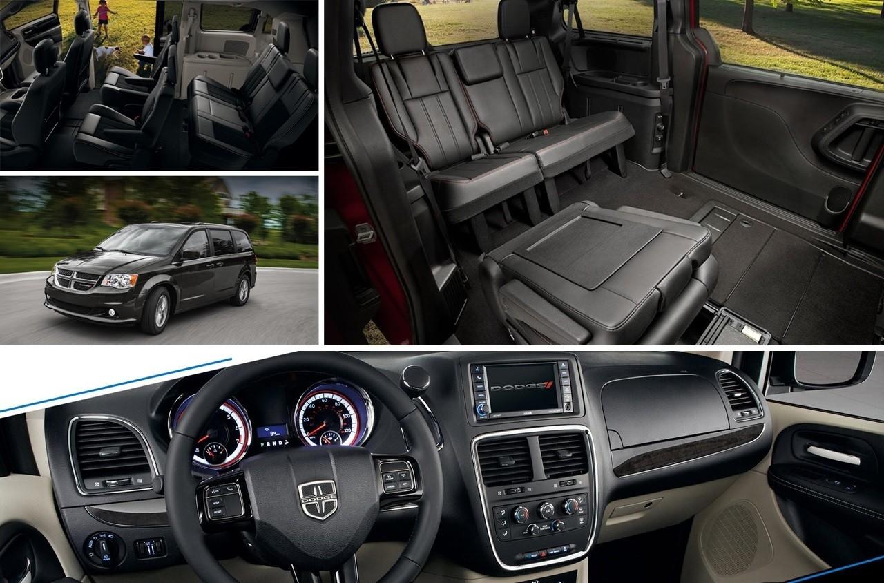 2020 Grand Caravan interior look: Seating, infotainment, cargo capacity and more